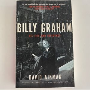 ❌SOLD❌Billy graham his life and influence book